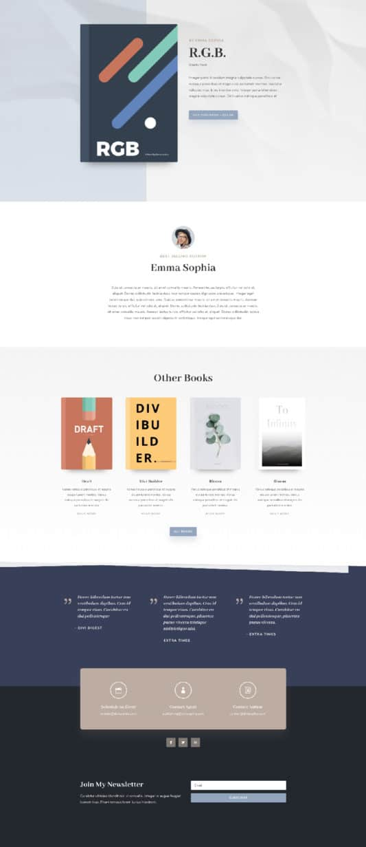 Author Web Design 5