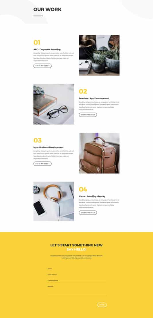 Design Agency Web Design 7