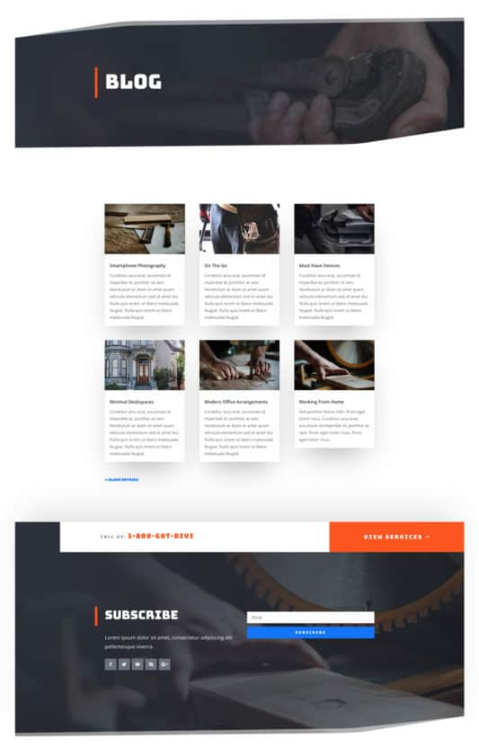 Handyman Web Design 2