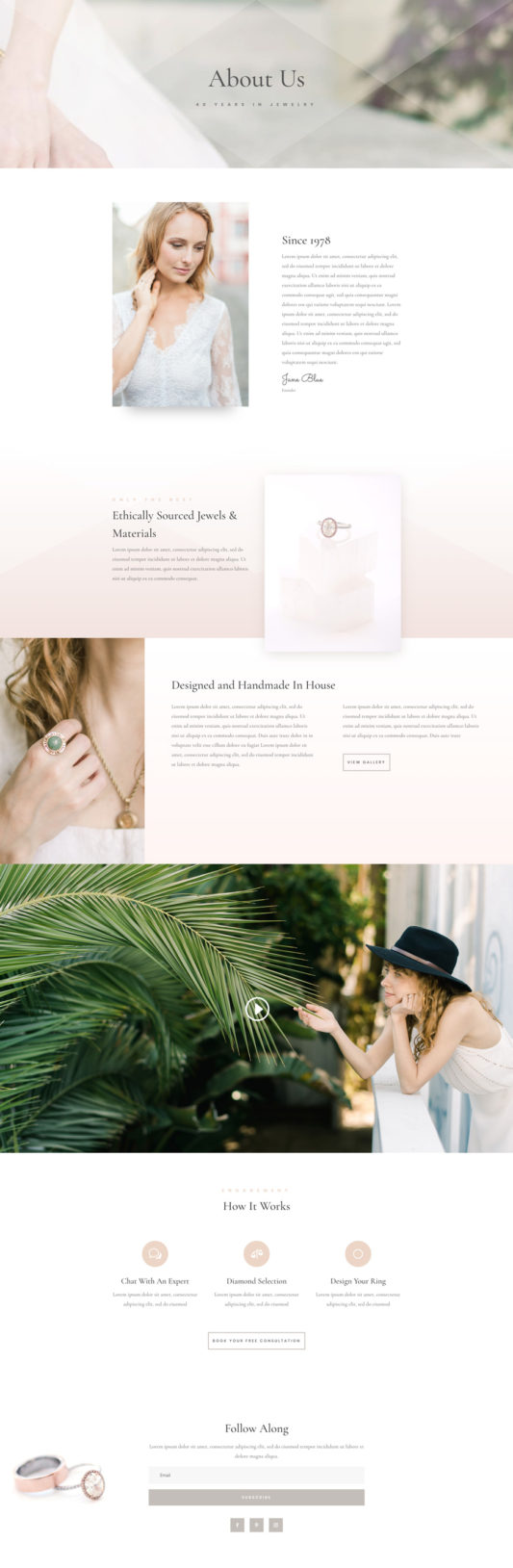 Jeweler Web Design 1