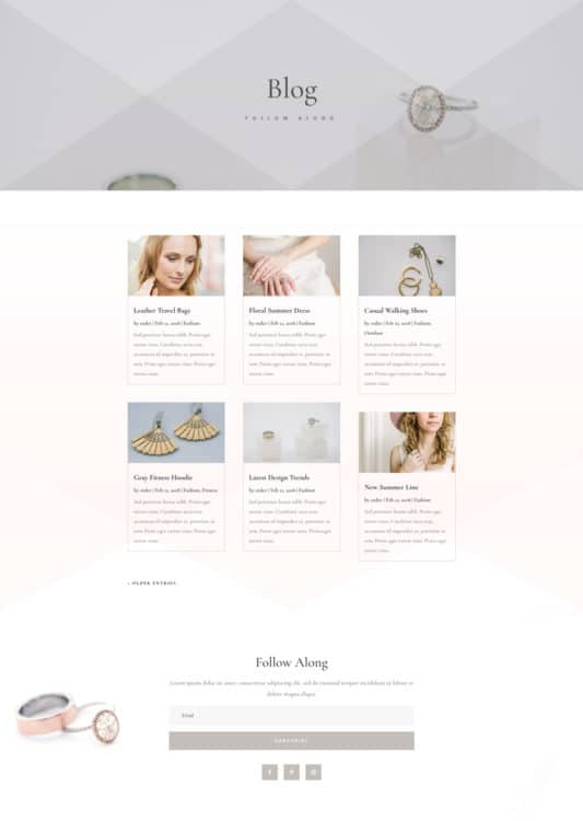 Jeweler Web Design 2