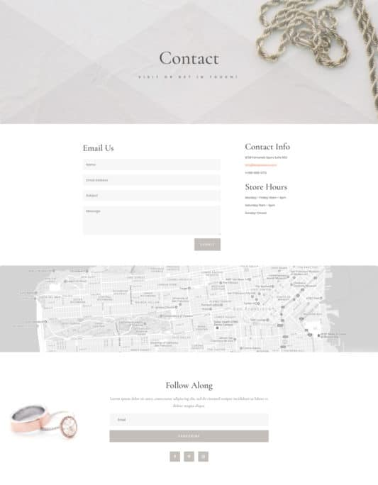 Jeweler Web Design 3