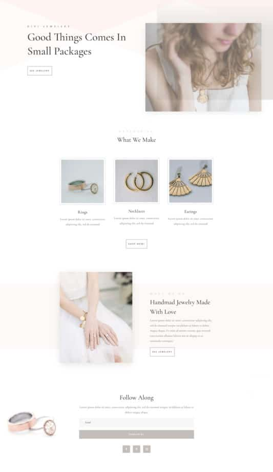 Jeweler Web Design 5