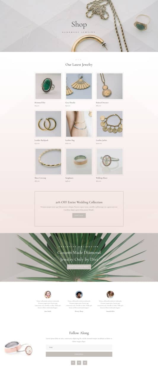 Jeweler Web Design 7