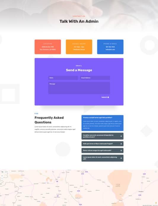 Elementary School Web Design 3