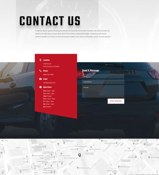 Car Dealer Web Design 2