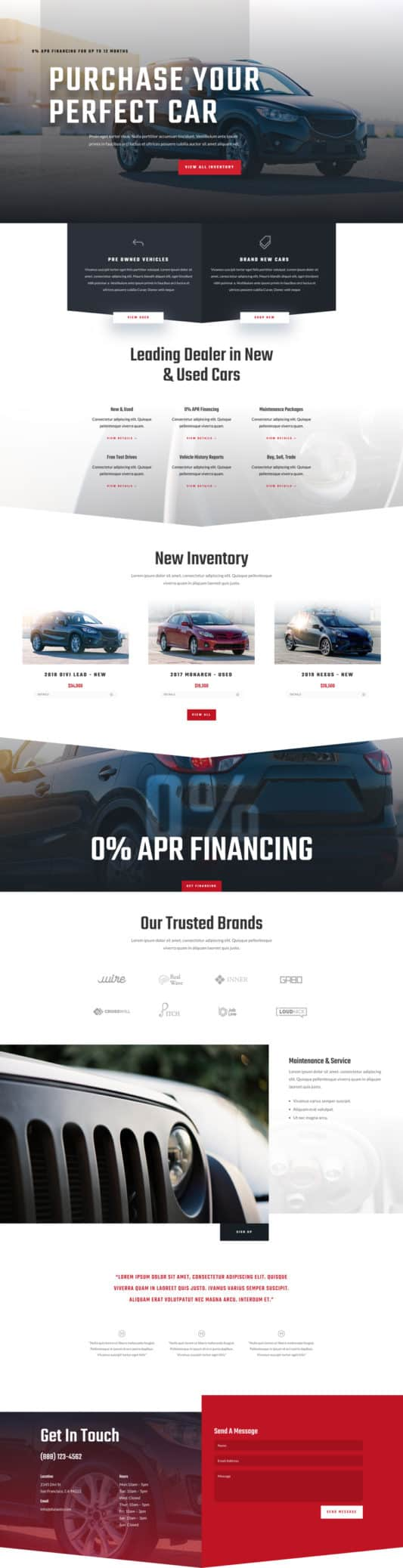 Car Dealer Web Design 5