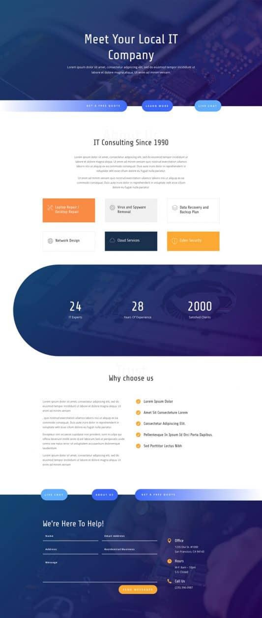 IT Services Web Design 1