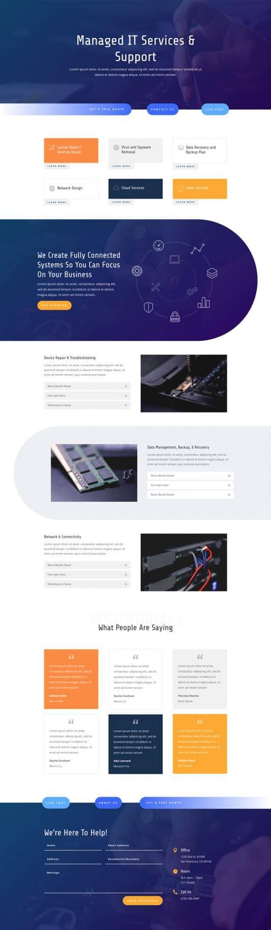IT Services Web Design 7