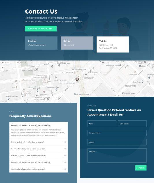 Accountant Web Design 3