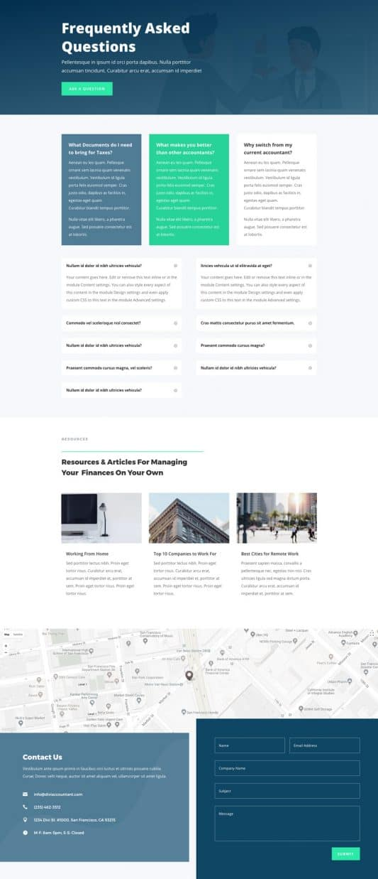 Accountant Web Design 4
