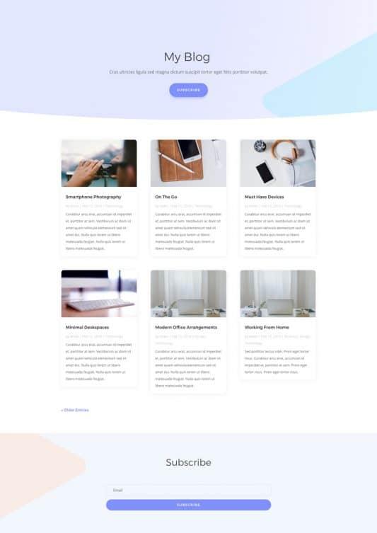 Therapist Web Design 2