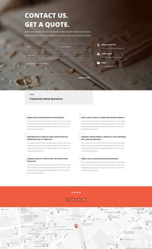 Carpenter Web Design 2