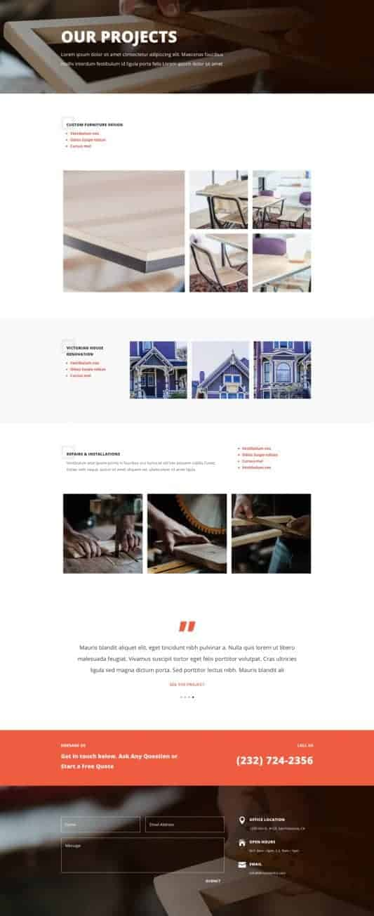 Carpenter Web Design 3