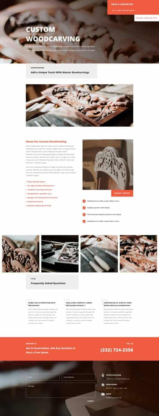 Carpenter Web Design 6
