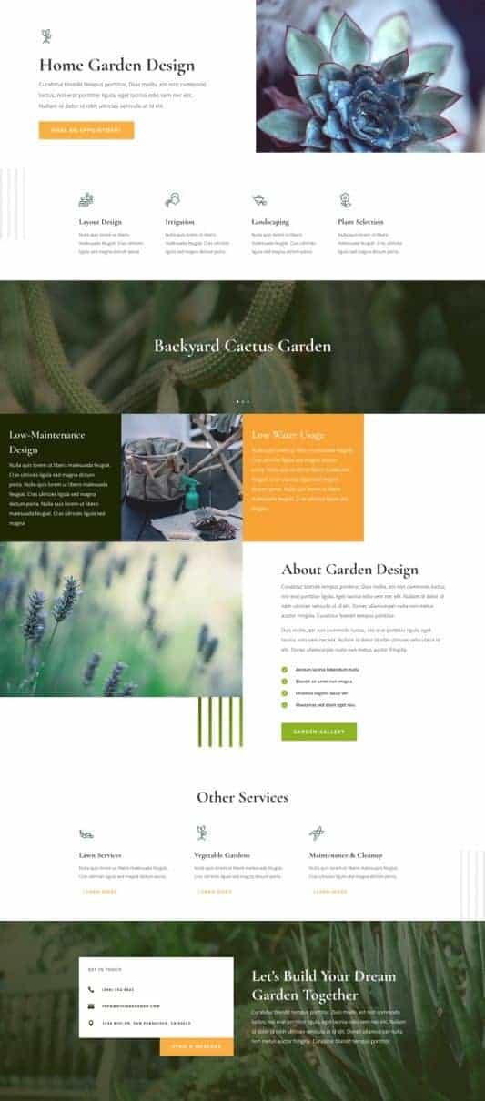 Gardener Web Design 6