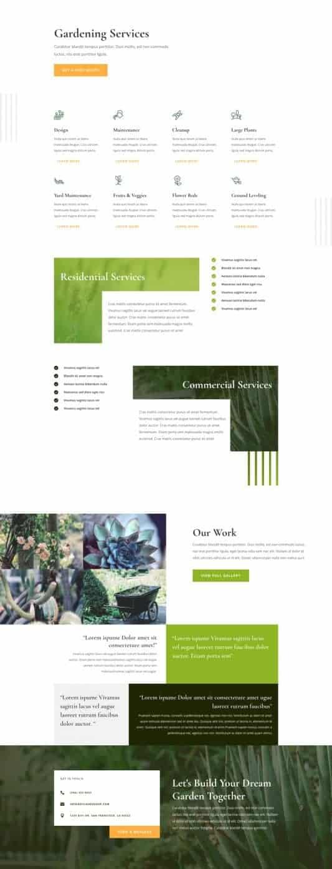 Gardener Web Design 7
