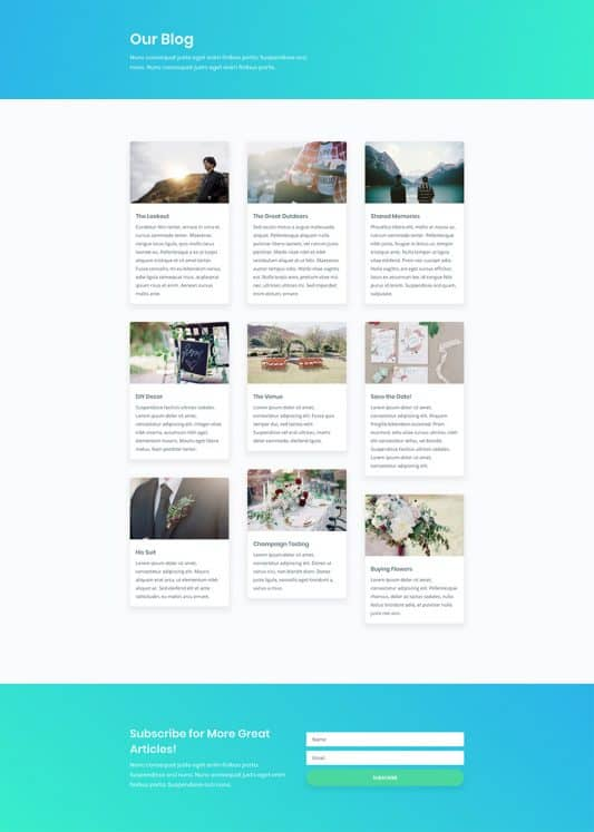 Yoga Studio Web Design 2