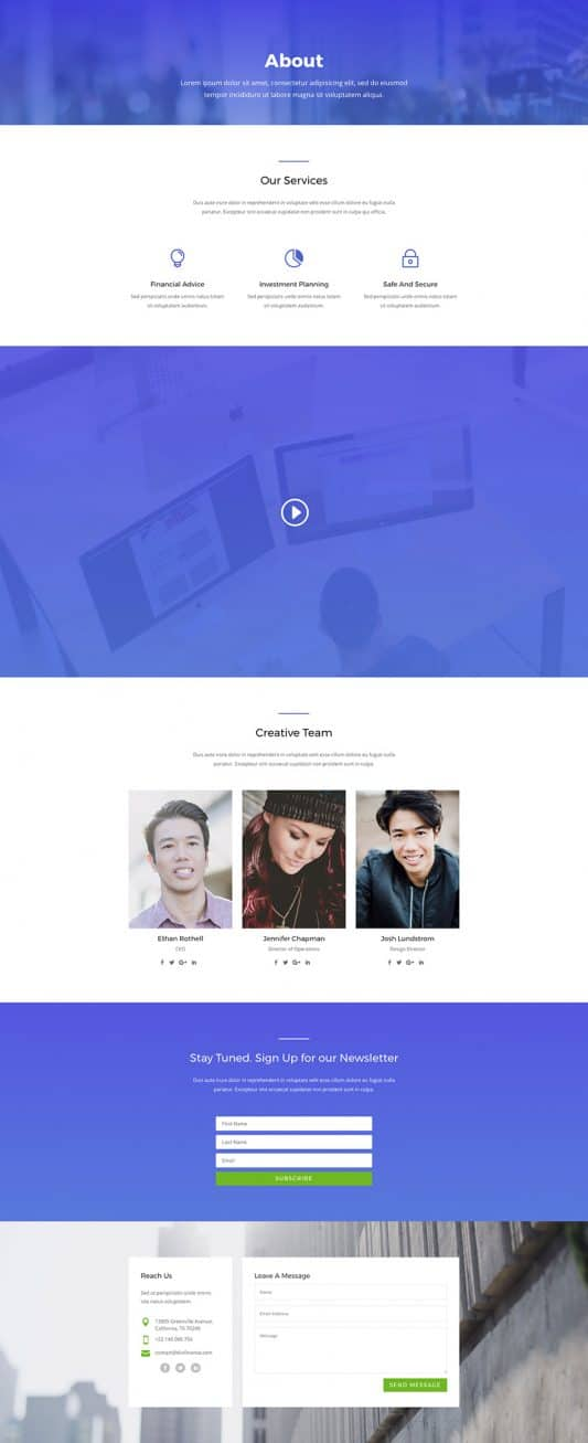 Agency Web Design 1