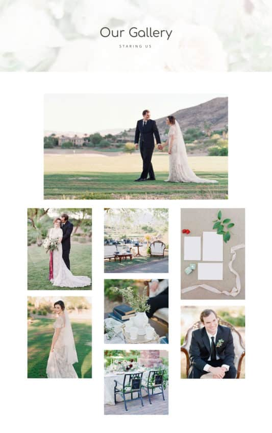 Wedding Web Design 5