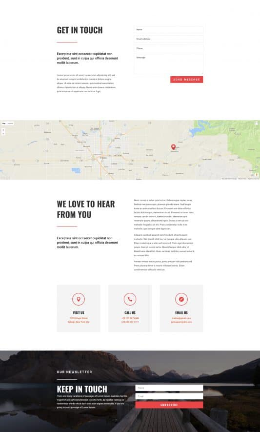 Travel Agency Web Design 3
