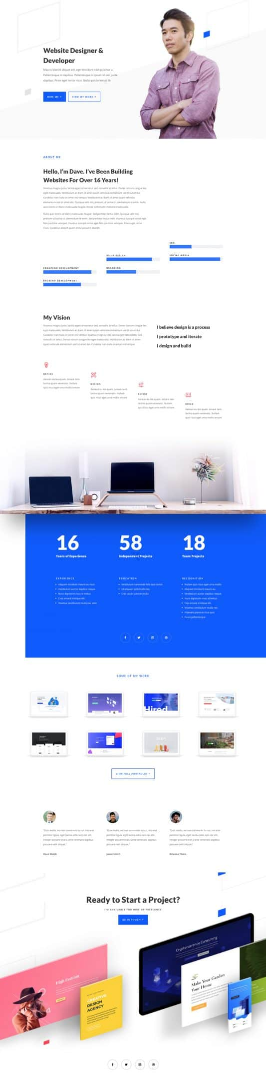 Web Freelancer Web Design 1