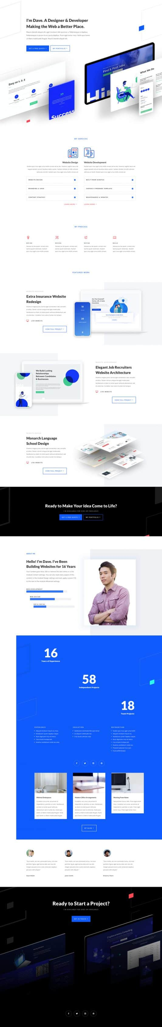 Web Freelancer Web Design 6