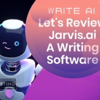 Write AI - Let's Review Jarvis.ai A Writing Software