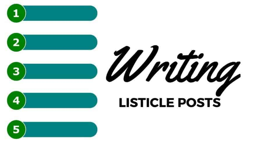Writing Listicle Posts