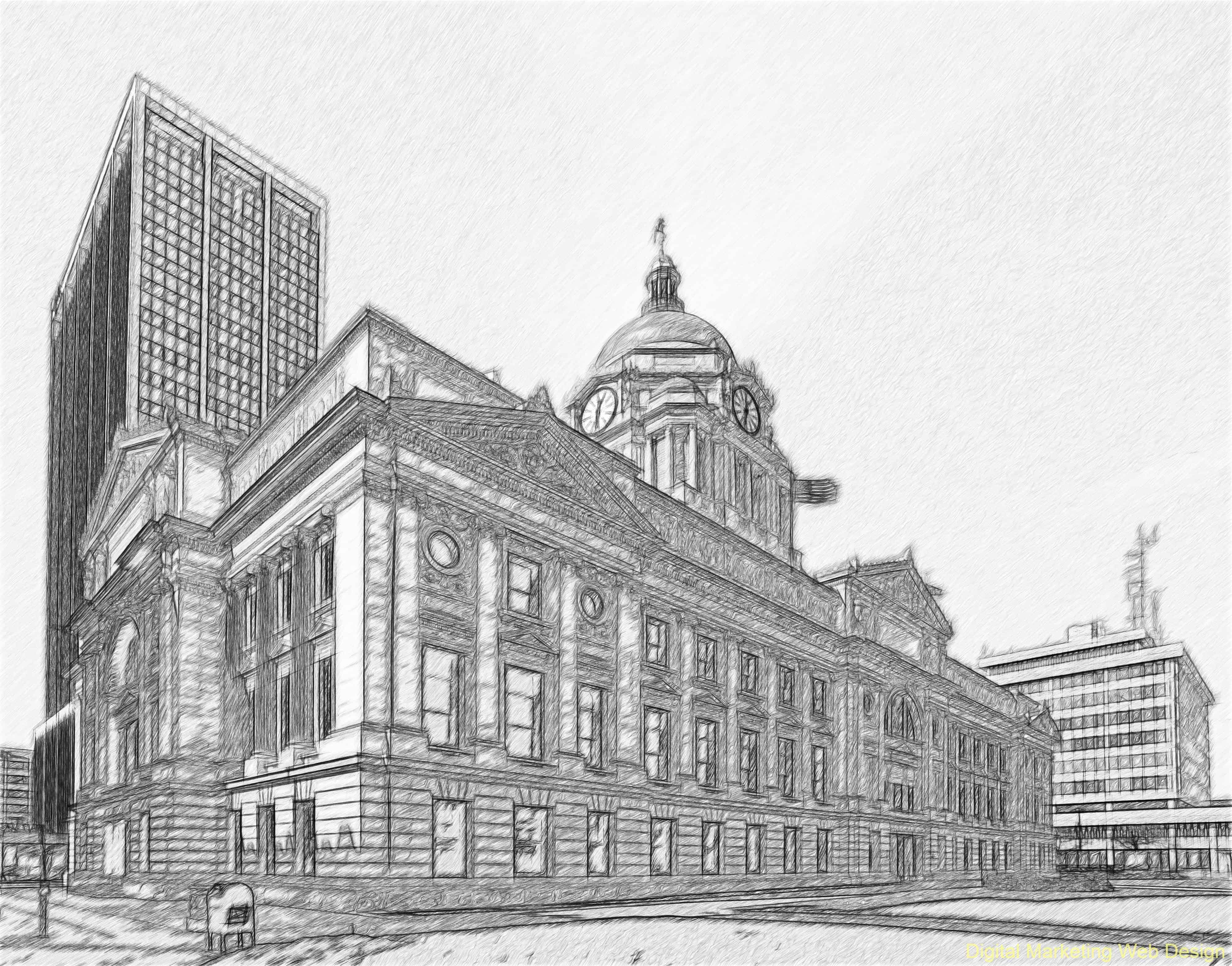 Fort Wayne, Indiana Courthouse