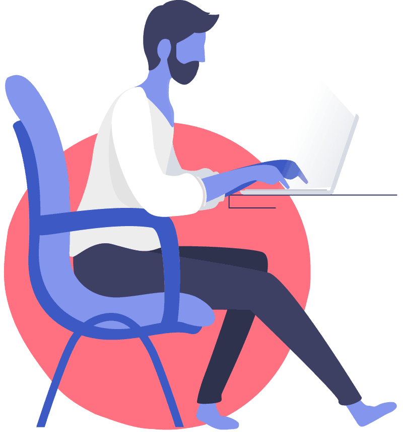 Graphic Illustrator About Page Style 1