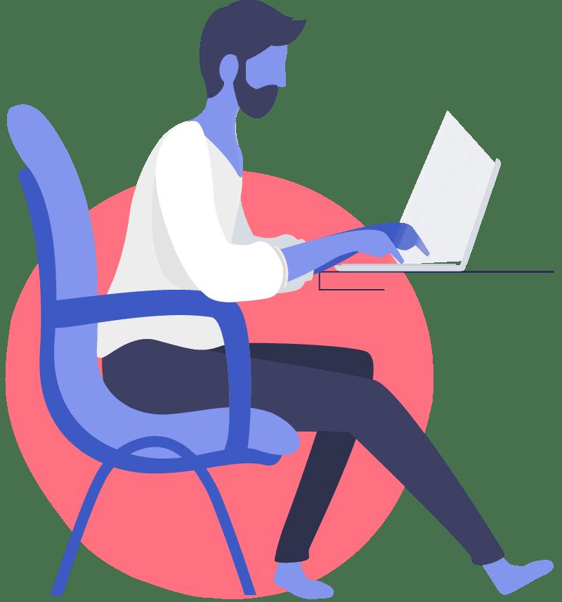 Graphic Illustrator Portfolio Page Style 8