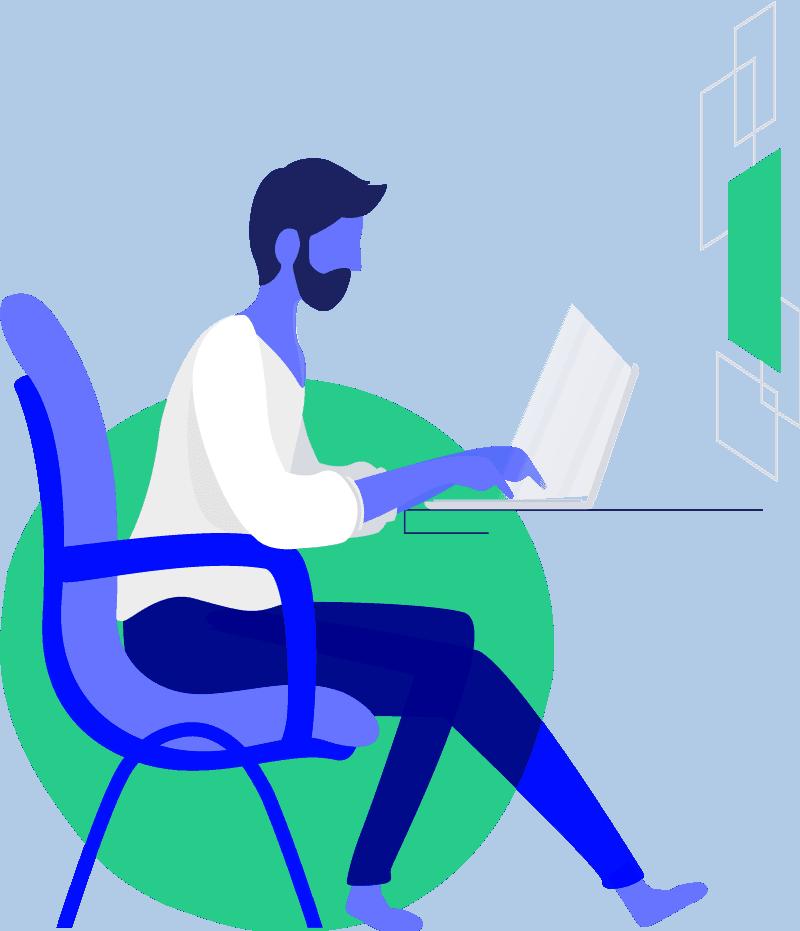 Job Recruiter Landing Page Style 1