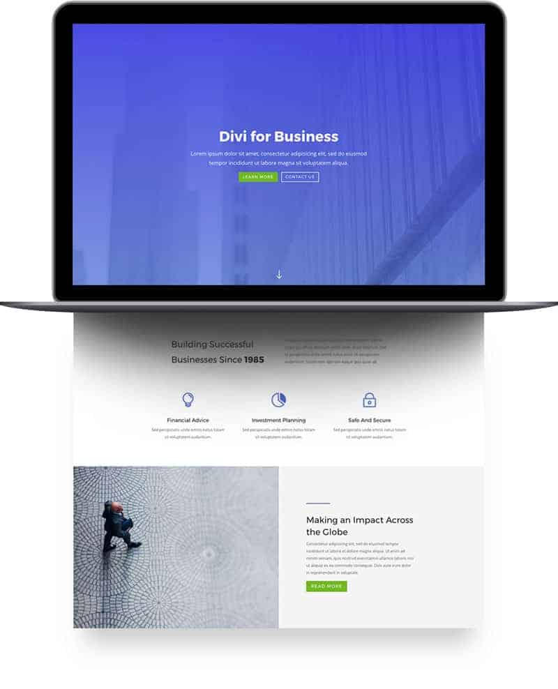 Business Consultant Case Study Page Style 1