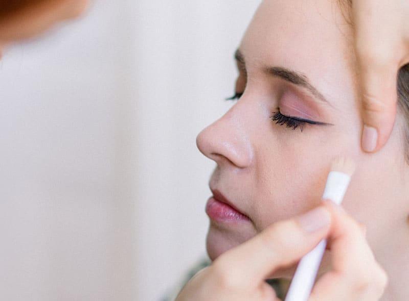 Makeup Artist Portfolio Page Style 11