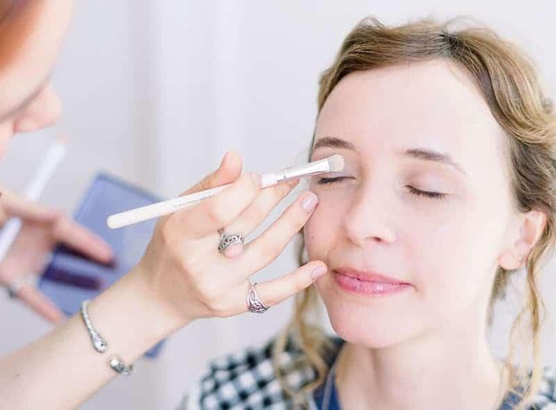 Makeup Artist Portfolio Page Style 9