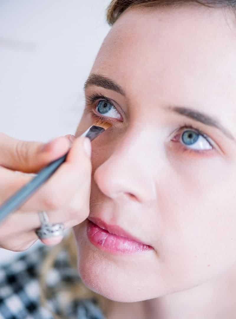 Makeup Artist Portfolio Page Style 10