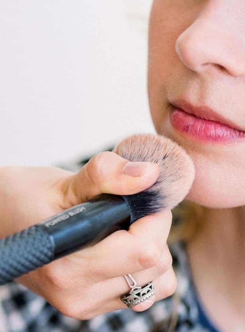 Makeup Artist Portfolio Page Style 4