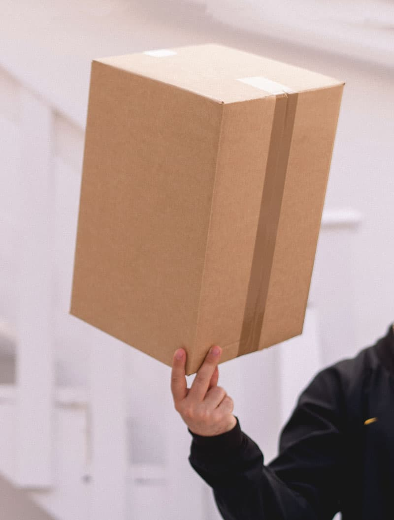 Moving Company About Page Style 2