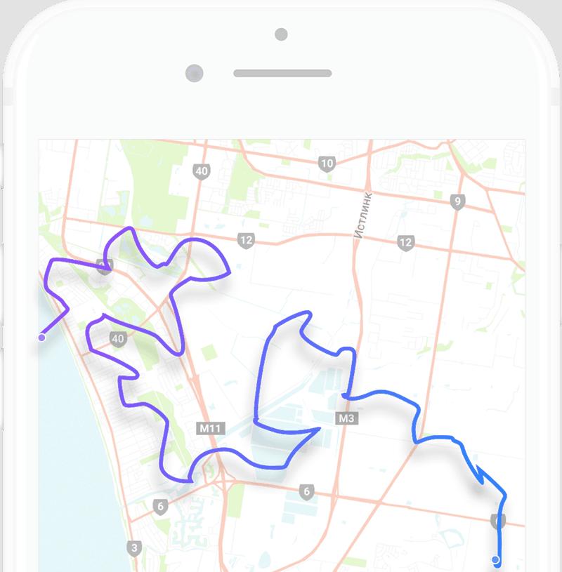 Marathon App Page Style 4