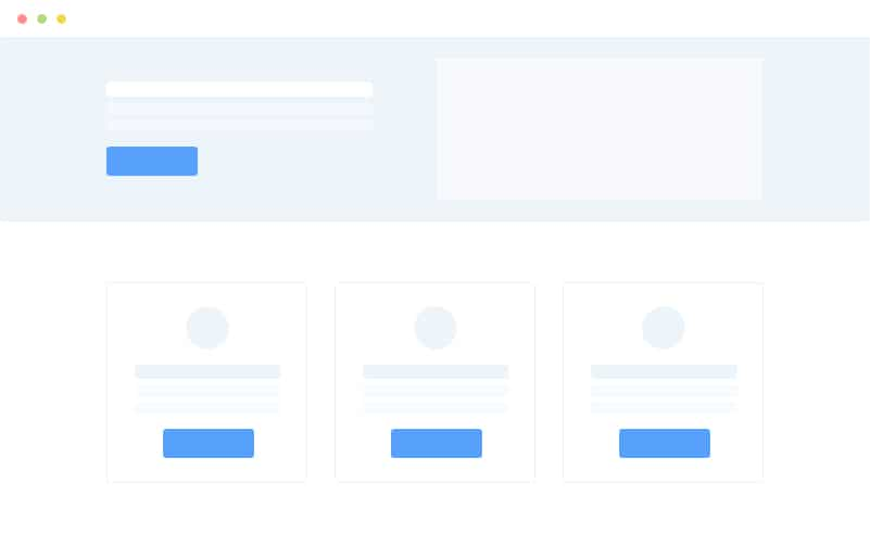 SaaS Company Landing Page Style 1