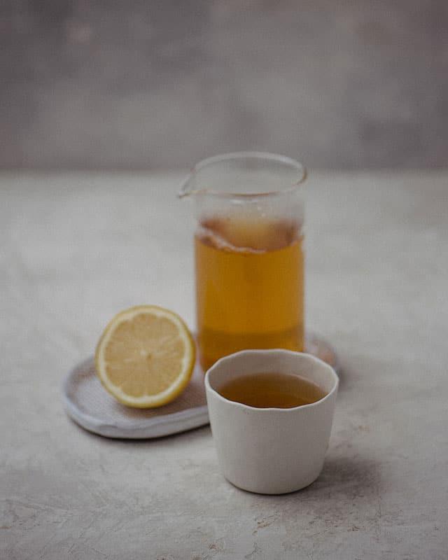 Tea Shop Landing Page Style 7